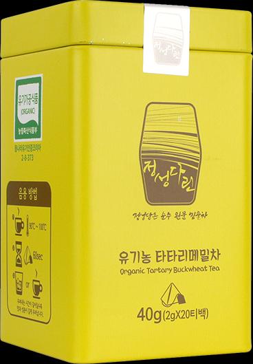 韓國 JD有機苦蕎麥焙茶