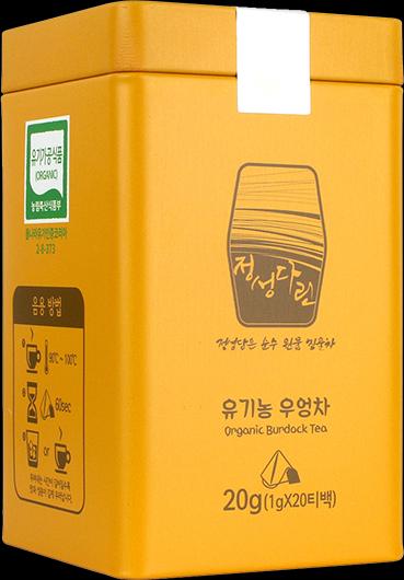 韓國 JD有機牛蒡焙茶