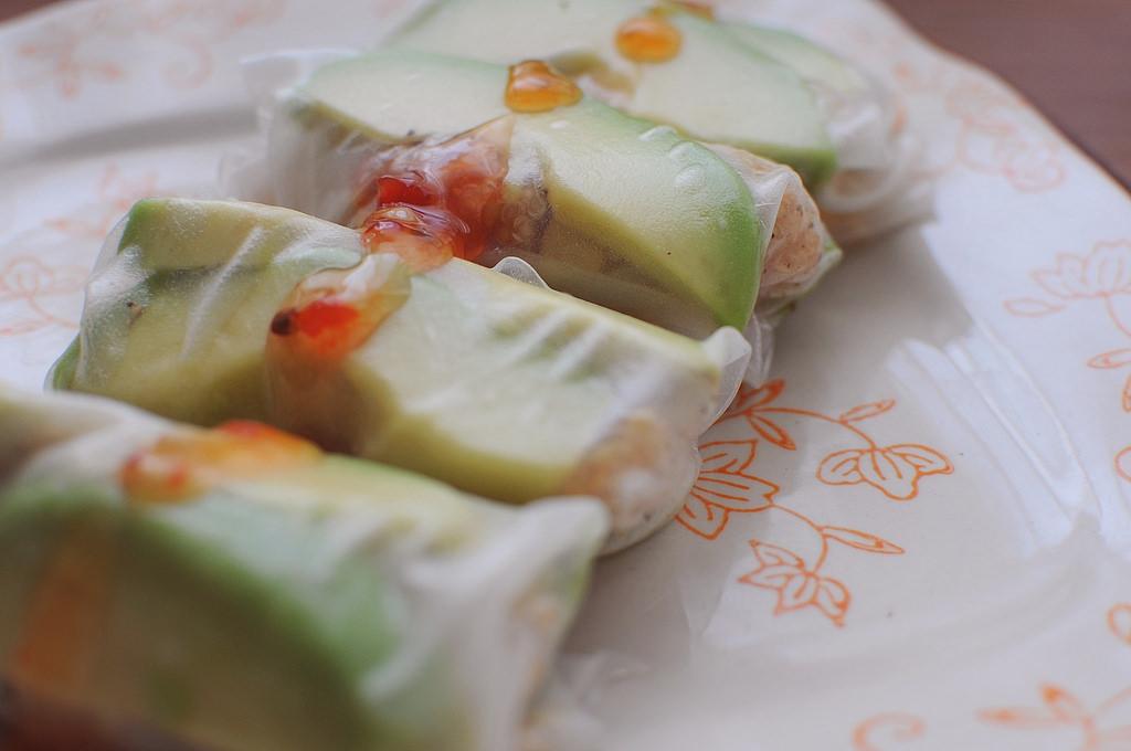 Quinoa Rice Paper Rolls