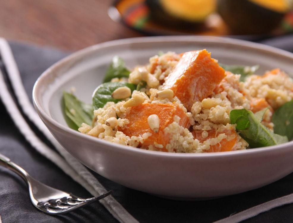 Japanese Style Pumpkin Quinoa Salad