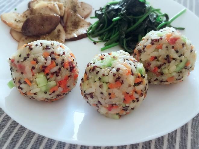 Quinoa Rice balls