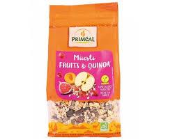 PRIMEAL organic quinoa muesli & fruit 350g new