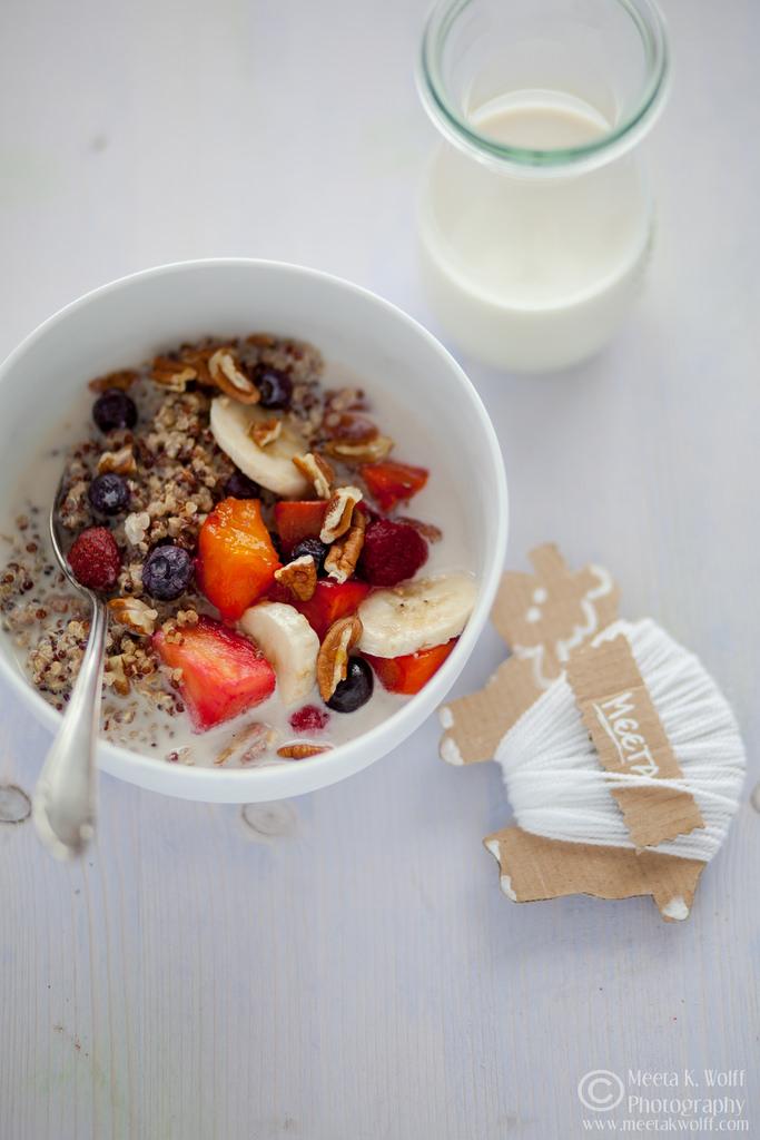 quinoa breakfast 1