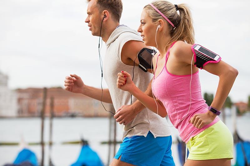 running man & woman