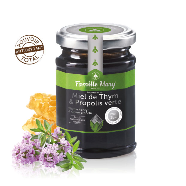 green propolis & thyme honey PAOT 18+ 2